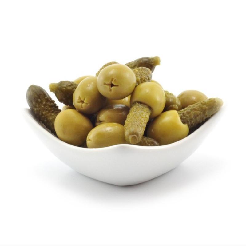 Encurtidos olijven en zuren