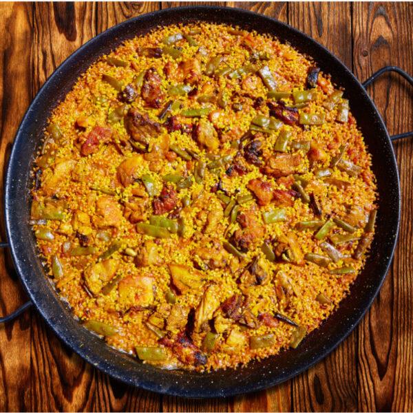 Verse paella in Nederland met Spaanse ingrediënten in Nederland te koop bij Alegre Import.nl