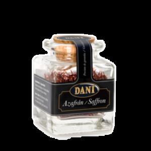 1 gram saffraan in glazen luxe glazen stolppotje_in Nederland te koop bij Alegre Import.nl